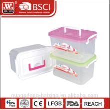 plastic storage container w/wheels 5.2L