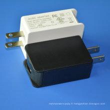 Adaptateur de chargeur secteur mural USB 5V 2A