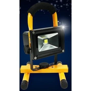 Nouveau 10W Rechargeable & Portable LED Outdoor Solar Flood Camping Light
