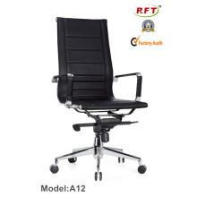 Cadeira executiva moderna de escritório de couro de alta qualidade (A12)