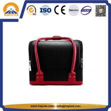 Estuche cosmético de cuero para viajes al aire libre (HB-6651)