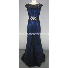 Fabulous Evening Dresses With Beaded Lace Appliques