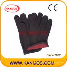 Brown Jersey Industrial Safety Cotton Work Gloves (410091)