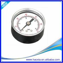 Medidor de pressão HAOXIA 40 com conexão traseira para compressor de ar
