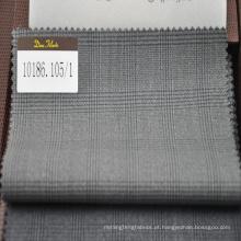 """super 110 """"100% tecido de lã em prince of wales check"""