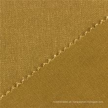 Fábrica Na China Plain Dyed Oem 269GSM KHAKI Tecido de algodão de lona