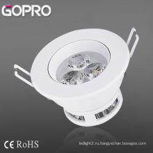 Светодиодный потолочный светильник 3W
