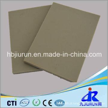 Folha de plástico PP & PE cinza em 4 X 8 Ft