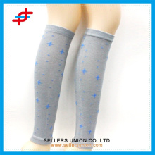 Japanese style knee high sports socks, compression sleeve leg warmer