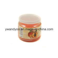 Bougie de soja parfumée naturelle dans une boîte-cadeau