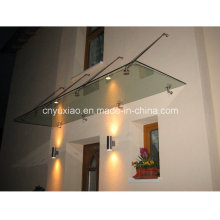 Polycarbonate Awning with Rain Cover UV Resistant