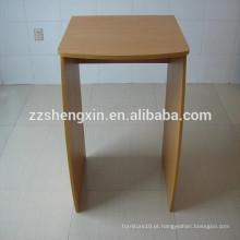 Stand de exposição de madeira simples para venda