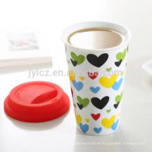 Keramiktasse ohne Griff