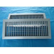 Dupla deflexão ar grade, grade de ar fresco, ar condicionado grade, grade de ar com amortecedor