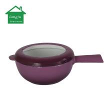 Eco-Friendly Cast Iron Cheese Fondue Pot Set