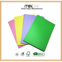 Papier couleur A4 / Papier d'écriture / Papier de copie Fabricant