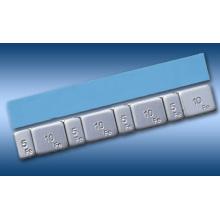 Fe Stick-on Adhesive Wheel Weights 5g/10gX4
