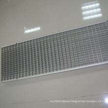 Metal Floor Grate Drainage Trench Cover Hot Dipped 30 X 3mm Galvanized Steel Grating