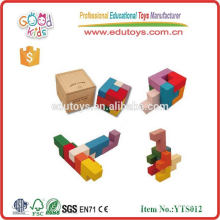 Wooden Educational Toys Soma Cube