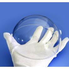 Objectif en verre sphérique Port dôme Objectif de caméra saphir