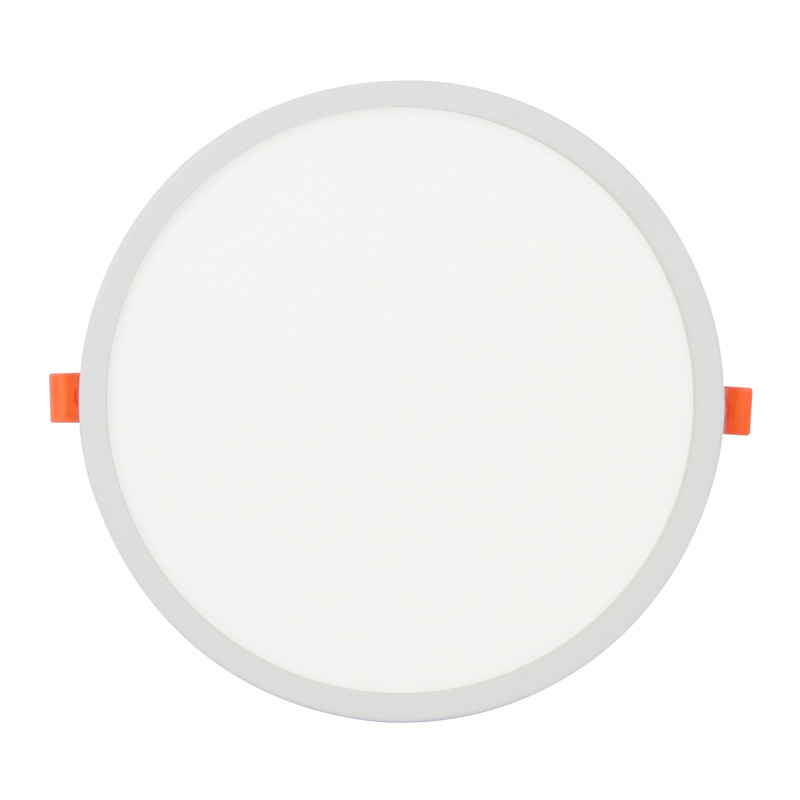 Recessed White 6W LED Panel Light