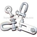 abrazadera de cable de acero en caliente de acero galvanizado Abrazadera de cable de carga pesada abrazadera de cable de metal abrazadera de hardware de aparejo apropiado