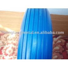 многоцветный PU пены резиновое колесо 4.80/4.00-8