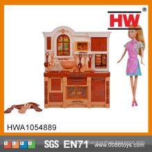 Brinquedo de alta qualidade e conjunto de cozinha para crianças música e luz