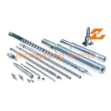 Twin Screw Extruder Parts Bimetallic Screw