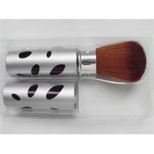 Brosse rétractable à brosse cosmétique à étiquette privée haute qualité