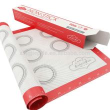 Tienda en línea china Buena tolerancia a la temperatura silicona herramientas para hornear, silicona durable alfombra de cocina, resistente al calor reutilizable no stic