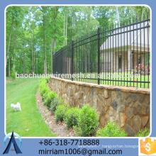 Baochuan fabulous hot sale steel fence/wrought iron/aluminum fence