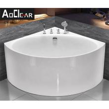 Aokeliya 100/120cm South Africa small sizes bathtub in sector shape