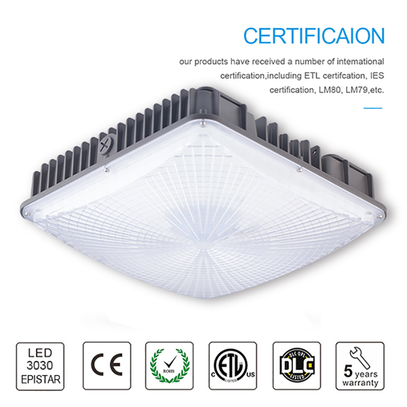 Dimmable Led Canopy Lights