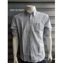 High Quality Yellow Stripes Men's Shirts