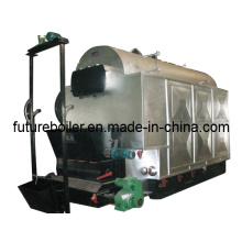 Caldera de vapor de biomasa (tipo horizontal)
