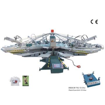 YH automatische Textile Siebdruckmaschine (Siebdruck)