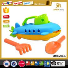 Venta al por mayor barco de playa de plástico con pala