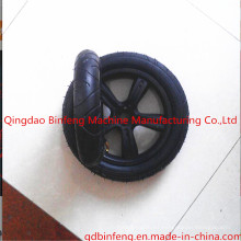 Rueda del cochecito de bebé neumático / rueda de goma del triciclo del niño del triciclo de los niños