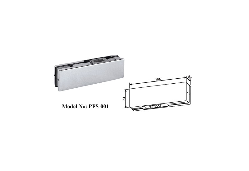 Bottom clip stainless steel
