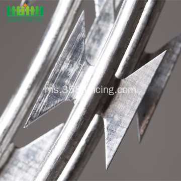 Wire Barbed Galvanized Glitter Hot Dipped