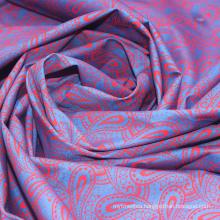 Super grade print cotton muslin fabric paisley