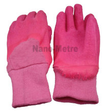 NMSAFETY hot sales good quality warm winter kids garden gloves for safety use