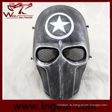Taktische Captain America Maske Ziz01-Jj Kunststoff Maske