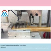 2 оси CNC автоматическая нержавеющей стали проволочной щеткой, что делает машину работать с стальным проводом вырезанные заранее в Китай alibaba