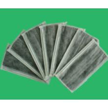 Suave y cómoda 4ply máscara facial de carbón activo