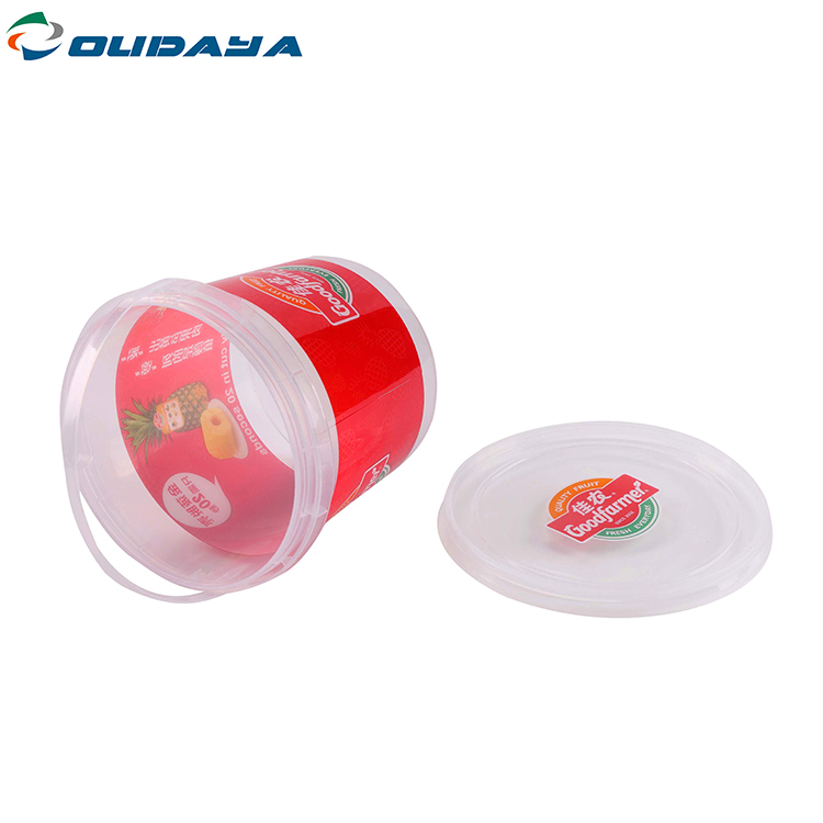 In Mould Label Container