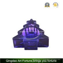 Porte-bougie colorée de Noël pour tealight