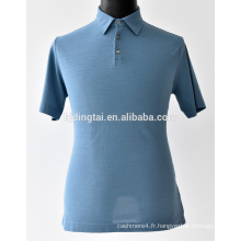100% coton hommes polo T-shirt occasionnel