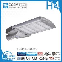 Cheap 200W LED luz de calle con Philips Lumiled Chips